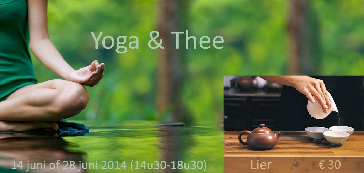 Yoga en Thee - Workshop